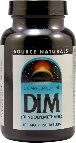 Source Naturals  DIM Diindolylmethane Perspective: front