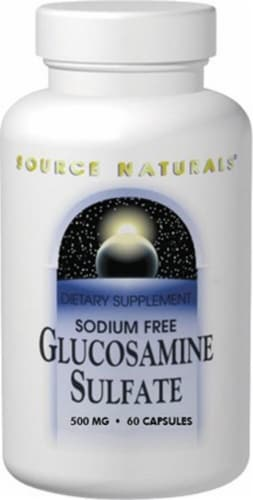 Source Naturals  Sodium Free Glucosamine Sulfate Perspective: front