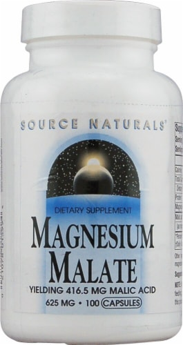Source Naturals  Magnesium Malate Perspective: front