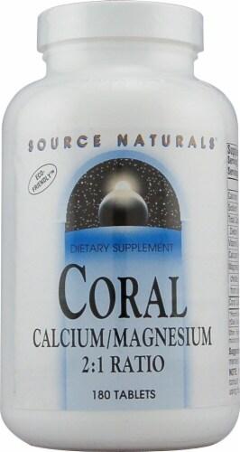 Source Naturals  Coral Calcium Magnesium Perspective: front