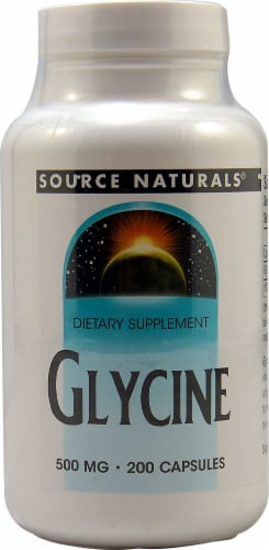 Source Naturals  Glycine Perspective: front