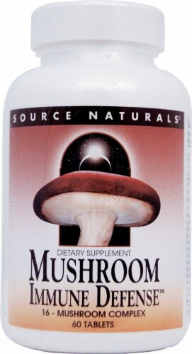 Source Naturals  Mushroom Immune Defense™ Perspective: front