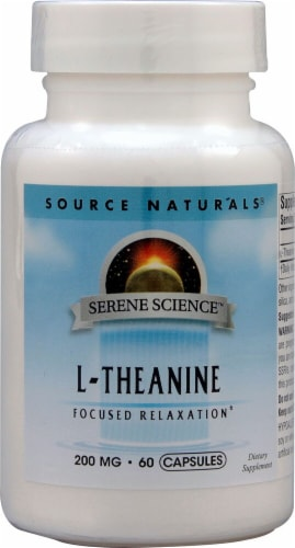 Source Naturals  Serene Science™ L-Theanine Perspective: front