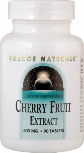 Source Naturals  Cherry Fruit Extract Perspective: front
