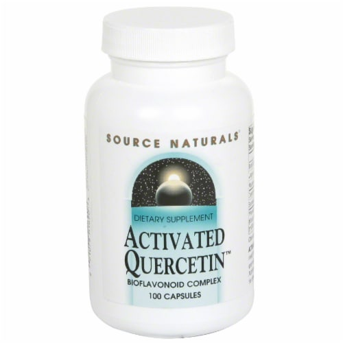 Source Naturals Activated Quercetin Tablets Perspective: front