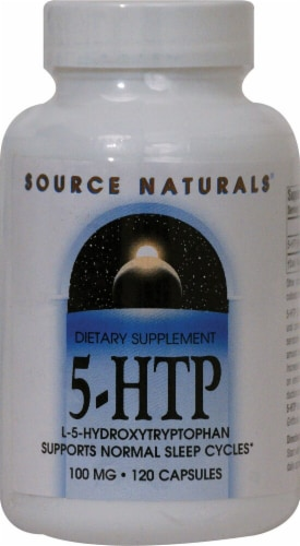 Source Naturals  5-HTP Perspective: front