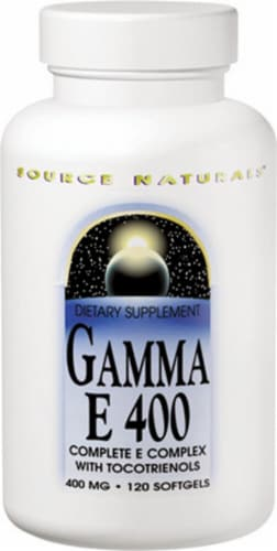 Source Naturals Gamma E 400 Complex Softgels 400mg Perspective: front