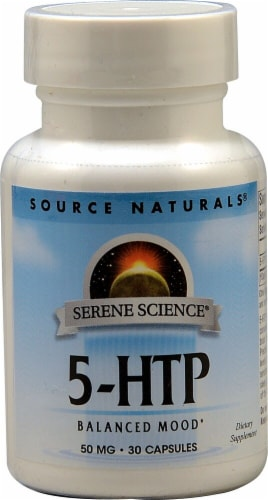 Source Naturals  Serene Science 5-HTP Perspective: front
