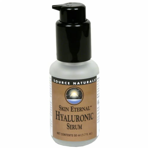Source Naturals Skin Eternal Hyaluronic Serum Perspective: front