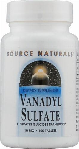 Source Naturals  Vanadyl Sulfate Perspective: front