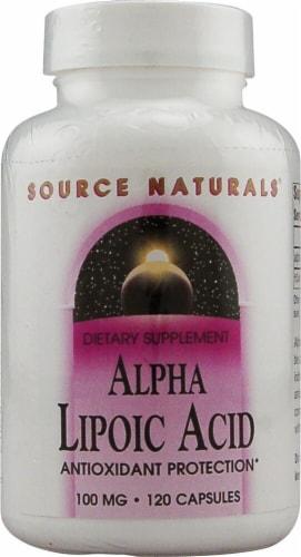 Source Naturals  Alpha Lipoic Acid Perspective: front