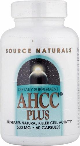 Source Naturals  AHCC® Plus Perspective: front