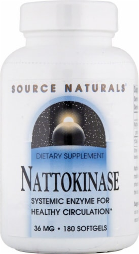 Source Naturals  NSK-SD™ Nattokinase Perspective: front