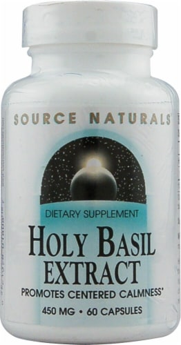 Source Naturals  Serene Science Holy Basil Extract Perspective: front