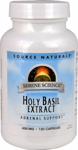 Source Naturals  Serene Science™ Holy Basil Extract Perspective: front