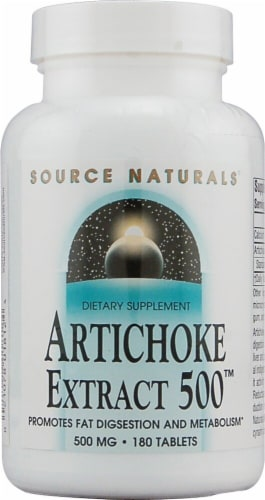 Source Naturals  Artichoke Leaf and Root Extract 500™ Perspective: front