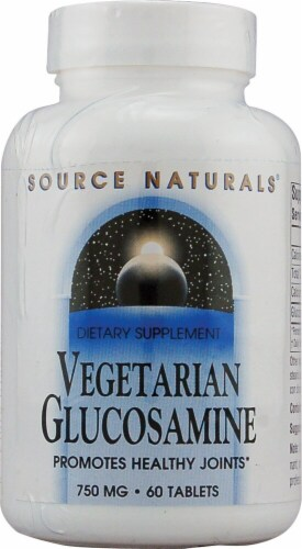 Source Naturals  Vegetarian Glucosamine Perspective: front