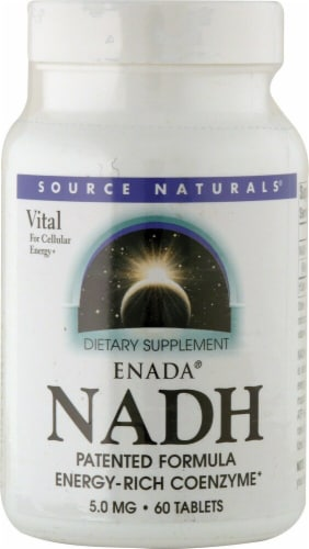 Source Naturals  ENADA NADH Perspective: front
