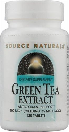 Source Naturals  Green Tea Extract Perspective: front