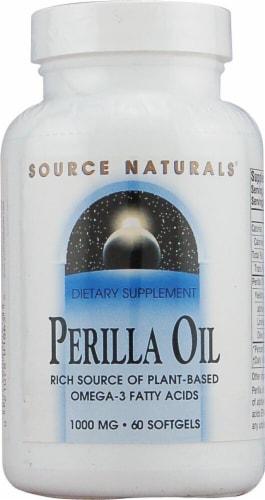 Source Naturals  Perilla Oil Perspective: front