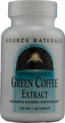 Source Naturals  Green Coffee Extract Perspective: front