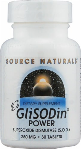 Source Naturals  GliSODin® Power Perspective: front