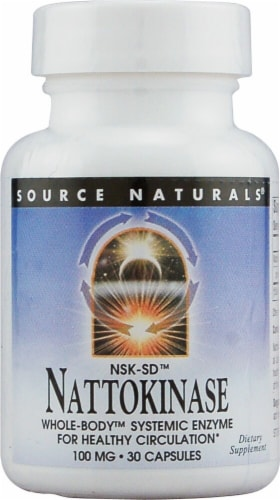 Source Naturals  Nattokinase NSK-SD™ Perspective: front
