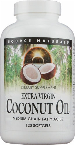 Source Naturals  Extra Virgin Coconut Oil Perspective: front