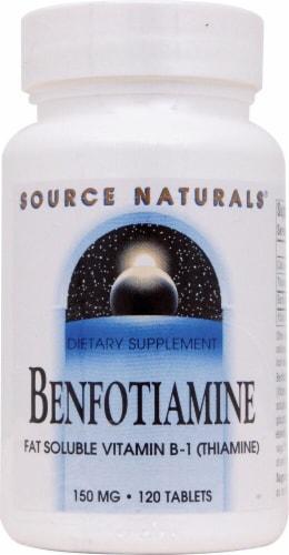 Source Naturals  Benfotiamine Perspective: front