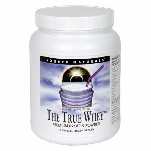 Source Naturals True Whey Powder Perspective: front