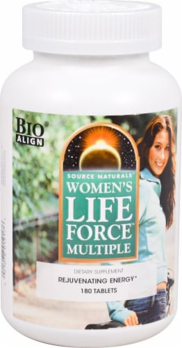 Source Naturals Women's Life Force Multiple Tablets Perspective: front