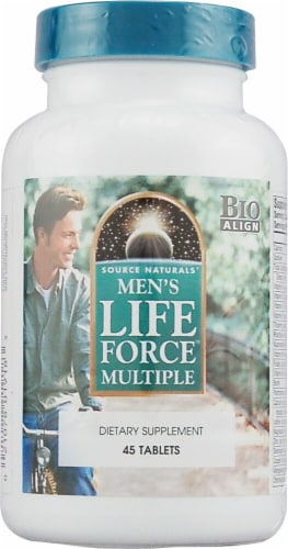 Source Naturals  Men's Life Force Multiple Perspective: front