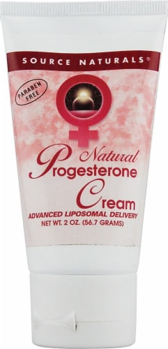 Source Naturals  Natural Progesterone Cream Perspective: front
