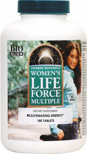 Source Naturals  Women's Life Force® Multiple No Iron Perspective: front