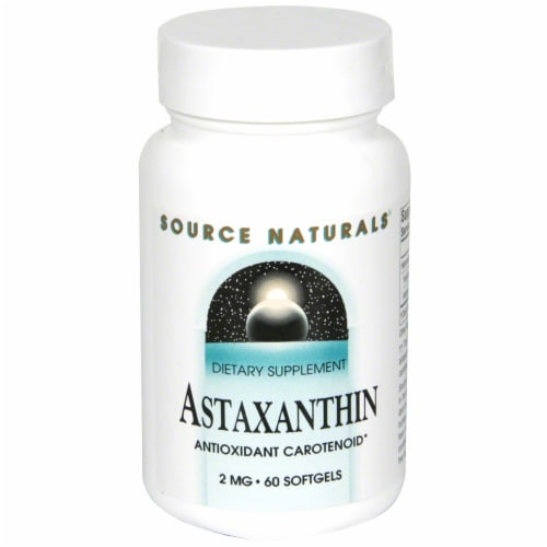Source Naturals Astaxanthin 2 mg Softgels Perspective: front