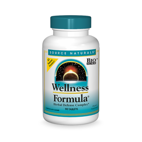 Source Naturals Wellness Formula Tablets Perspective: front