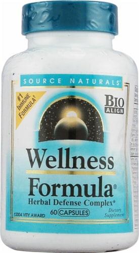 Source Naturals  Wellness Formula® Perspective: front