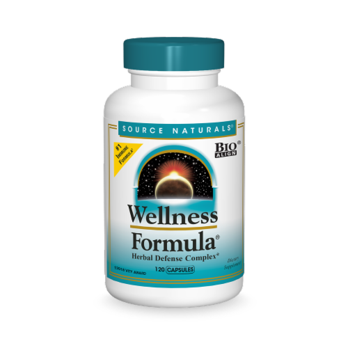 Source Naturals  Wellness Formula Herbal Defense Complex Perspective: front