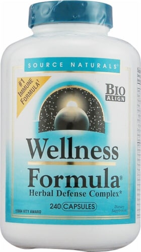 Source Naturals  Wellness Formula® Herbal Defense Complex Perspective: front