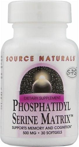 Source Naturals  Phosphatidyl Serine Matrix™ Perspective: front