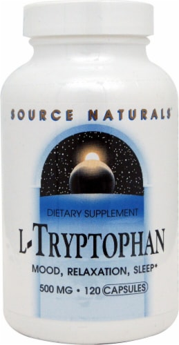 Source Naturals  L-Tryptophan Perspective: front