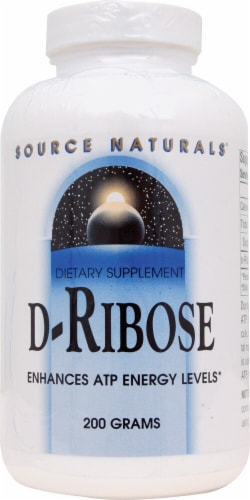 Source Naturals  D-Ribose Powder Perspective: front