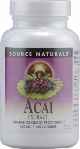 Source Naturals  Acai Extract Perspective: front