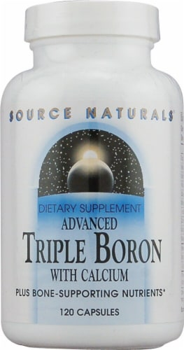 Source Naturals  Advanced Triple Boron With Calcium™ Perspective: front