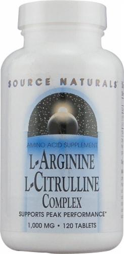 Source Naturals  L-Arginine L-Citrulline Complex Perspective: front