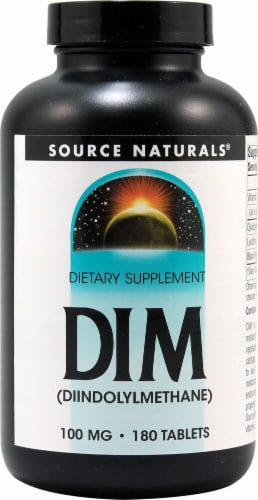 Source Naturals  DIM Diindolymethane Perspective: front