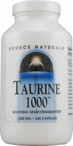 Source Naturals  Taurine 1000™ Perspective: front