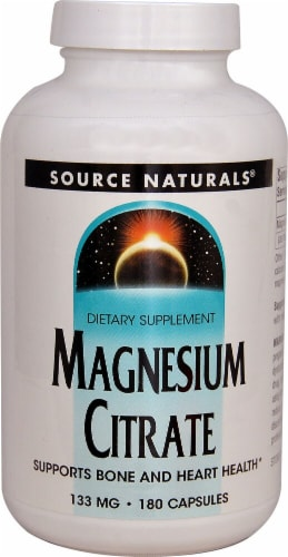 Source Naturals  Magnesium Citrate Perspective: front