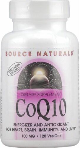 Source Naturals  CoQ10 Perspective: front