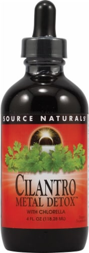 Source Naturals Cilantro Metal Detox™ With Chlorella Dietary Supplement Perspective: front